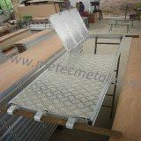 Plancia di alluminio dell'impalcatura con il Trapdoor