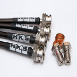 Fils en acier inoxydable de moto durables PTFE flexible de frein lisse