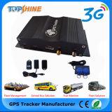 Устройство считывания отпечатков пальцев автомобильной сигнализации 3G GPS Tracker для управления парком ПК
