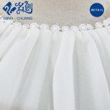 Parte superiore di serbatoio tessuta chiffona della maglietta della cinghia del merletto del fiore delle donne di modo