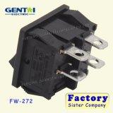 Interruptor de eje de balancín del Pin T125 del cuadrado 4 de la seguridad 10A 250V