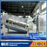 Sistema de deshidratación de lodos de apilado de lodos aceitosos