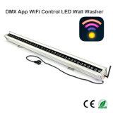 De LEIDENE van het Controlemechanisme DMX WiFi Wasmachine van de Muur