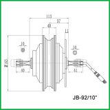 """Czjb-92/10 """" motor engranado 10inch de la vespa de 48V 350W"""