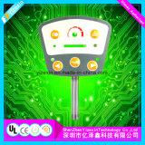 Interruptor de membrana de prata profissional da impressão de Manufaturer para eletrônico