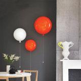Lâmpada decorativa moderna do teto do balão da iluminação do candelabro do bebê