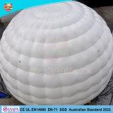 Mini Publicité gonflable tente igloo d'événement blanc tente avec voyant LED