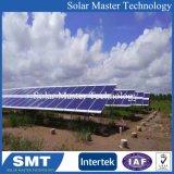 태양 설치 시스템을%s 지붕에 의하여 거치되는 선반에 얹기 시스템 알루미늄 태양 PV 부류 태양 부류