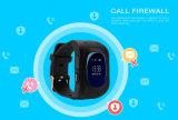 Wristwatch детей положения звонока Sos вахты малышей Q50 GPS франтовской