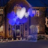 Indicatore luminoso impermeabile del proiettore del cuore LED del IP 65 Blue&White
