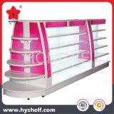 Présentoir cosmétique d'hypermarché avec le cadre d'éclairage LED de monture