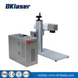 mini bewegliche Laser-Markierungs-Maschine der Faser-20With30W für LED-Birnen-Firmenzeichen