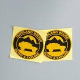 Etiket van de Sticker van het Document van de Orde van de douane het Glanzende & het Waterdichte VinylEtiket van de Sticker