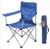 Silla de playa plegable al aire libre, silla roja del Portable de la silla del ocio