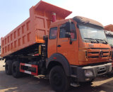 중국 트럭 Beiben 6X4 쓰레기꾼 트럭 가격