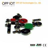 865-868MHz Tag do metal da freqüência ultraelevada do estrangeiro H3 RFID anti para o seguimento da frota