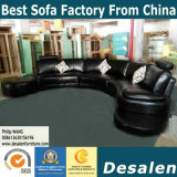 Factory Price decaying U Shape Genuine Leather sofa (B. 958)