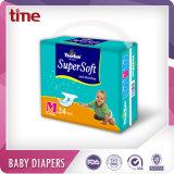 Tecido absorvente barato do bebê da boa qualidade da fita dos PP da película do PE do preço