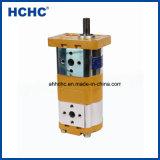 Doppia pompa a ingranaggi idraulica ad alta pressione Cbwlxy per la mietitrice