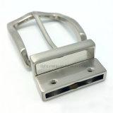 La boucle de courroie réversible en alliage de zinc de Pin de boucle en métal de qualité pour la robe ceinture les sacs à main de chaussures de vêtement (ZD008-515)