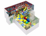 工場供給の屋内運動場装置の子供のプラスチックスライド
