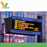 P10 높은 화소 게시판을 광고하는 태양 에너지 발광 다이오드 표시