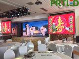 Haute résolution Full mur vidéo DEL de couleur pour l'intérieur de la publicité (hauteur 2,9 mm)