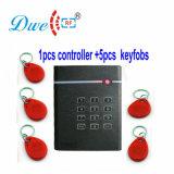 Programa de lectura externo del Pin del telclado numérico de los kits 125kHz RFID del control de acceso de la puerta del regulador independiente del acceso