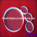 Parte trasparente di vetro di quarzo di spessore di vendita calda 20mm