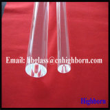 Résistance à la chaleur transparent de bâtonnets de verre de quartz silice fondue