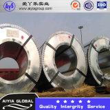 Горячий окунутый гальванизированный стальной лист катушки (DC53D+Z, St05Z, DC53D+ZF) пробивая стальной