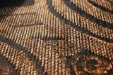アフリカ(FTH31402)のためのブラウン様式のシュニールのソファーファブリック