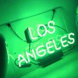 Lumières Los Angeles de signes au néon pour le café, affiche de barre de bière