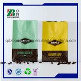 Sacchetto di caffè di plastica con la valvola per l'imballaggio del chicco di caffè