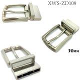 La boucle de courroie réversible en alliage de zinc de Pin de boucle en métal de qualité pour la robe ceinture les sacs à main de chaussures de vêtement (XWS109)