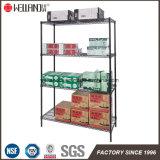 Estante resistente de la estantería del alambre de metal del almacenaje del almacén 250kg de las gradas del NSF 4