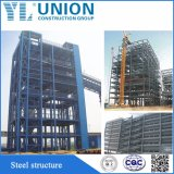 Construção de estrutura de aço Prefab profissional para garagem Warehouse House