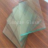 el vidrio de flotador claro fino de 2.0m m para PVB mueve hacia atrás el vidrio