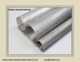 """50.8*1.0mm 2 """" SS304 Exhaust Perforated Stainless Steel tube"""