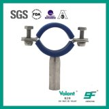 Encaixes de tubulação redondos higiênicos do suporte da tubulação do aço inoxidável