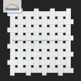 La Chine de la fabrication élégant Natté blanc et noir tuile mosaïque murale