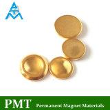 Aimant permanent d'or de D17 NdFeB avec du matériau magnétique de néodyme
