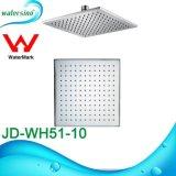 Jd-Wh51-8b dessin carré noir mat Pomme de douche en laiton avec bras de douche
