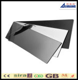 Schwarzes PVDF zusammengesetztes Aluminiumpanel für äußere Wand-Umhüllung