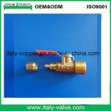Forjada de latão Válvula de Esfera pneumática (AV-PV-2001)