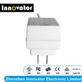 24V 0.625A 15W Wallmount Typ Energien-Adapter für Audio, bestätigt von UL u. von FCC