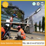 Calle solar solar poste ligero del sistema de iluminación de 2018 del nuevo producto luces de calle