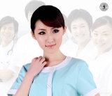 Médical confortable frotte l'infirmière d'OEM uniforme avec du coton 100%