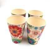 Os utensílios de mesa biodegradáveis seguros da máquina de lavar louça caçoam o copo bebendo da fibra de bambu