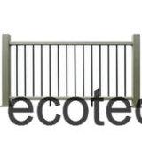 Fsc를 가진 Decking, ISO 의 세륨 증명서의 밑에 녹색 그리고 Eco-Friendly 구렁 WPC 장선